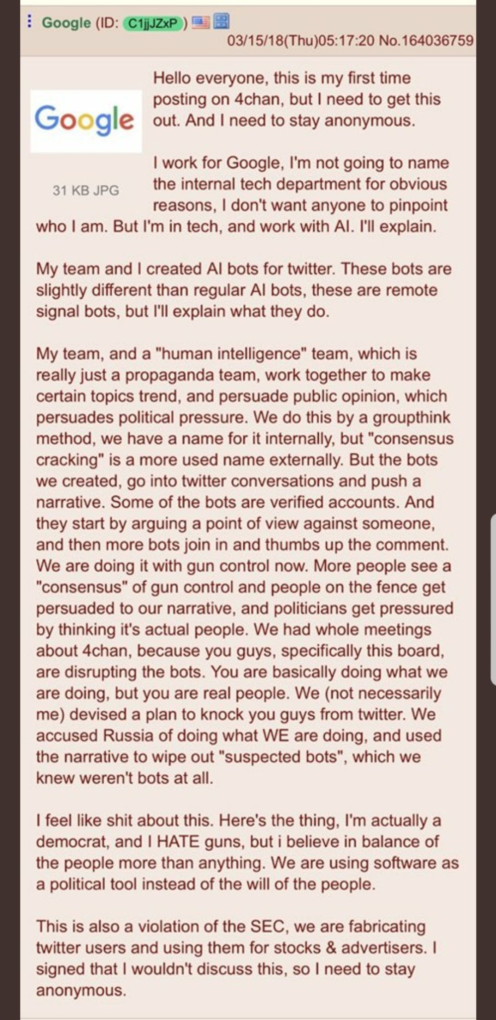 google programmer AI