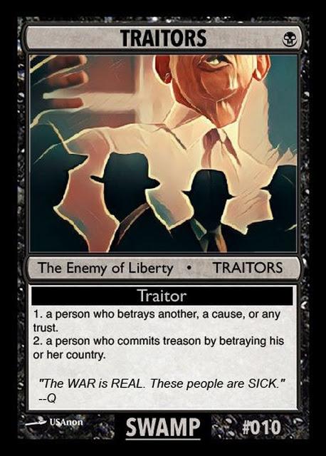 Traitors Qcard