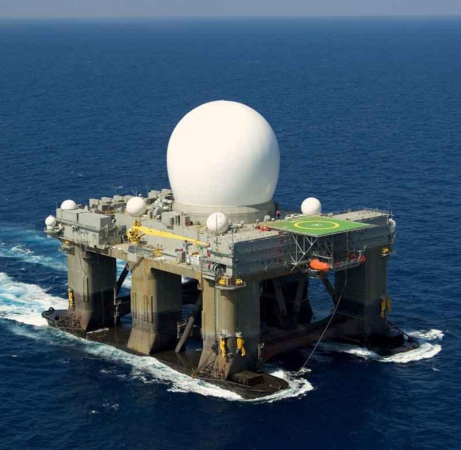 floating radar platforms SBX