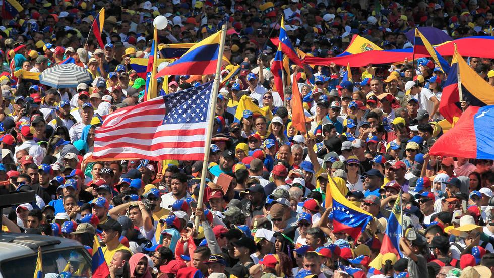 caracas venezuela demonstration