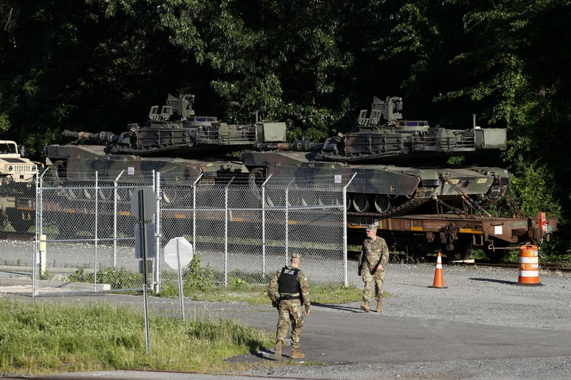 tanks in DC for July 4 celebration