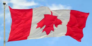 Canadian flag distress